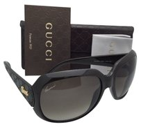 Gucci GUCCI Sunglasses GG 3616/S COKHA 60-18 Brown with Leather &Brown Gradient Lenses