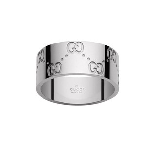 Gucci Gucci White gold Ring 6.75
