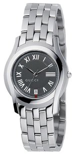Gucci Ladies Watch Gray Dial Stainless Steel YA055508