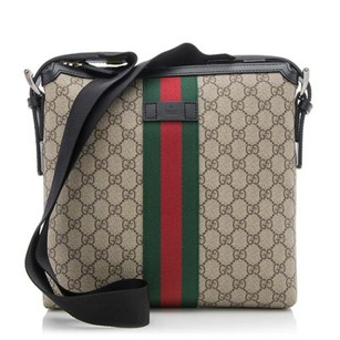 a49010d92 Gucci Leather Unisex beige Messenger Bag