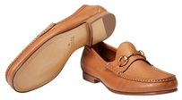 Gucci Men's Loafers Men's light brown leather Flats