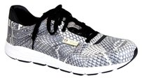 Gucci Mens Python Running Sneakers Gray/White Boots