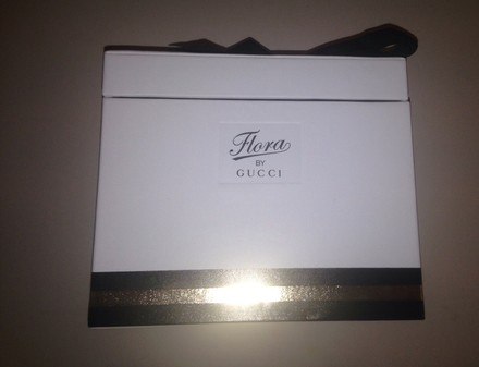 Gucci New Gucci flora bow accessories makeup storage
