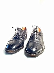 Gucci Italy Black Oxford Dress Shoes Leather Made In Italy B1850