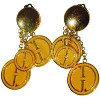 Gucci Rare Collectible Gucci Charm Earrings