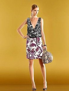 Gucci short dress Multi-Color Runway Silk Floral on Tradesy