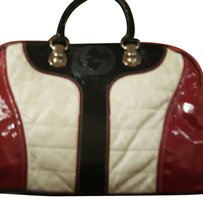 Gucci Satchel in Black red and white