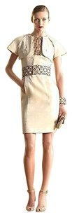 Gucci short dress Beige Seam Cape Wbamboo on Tradesy