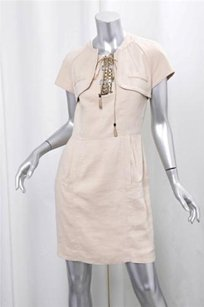 Gucci Linen Sleeveless Dress