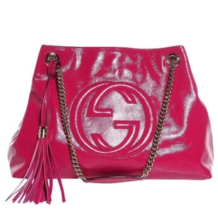 Gucci Soho Pink Crossbody Hobo Bag
