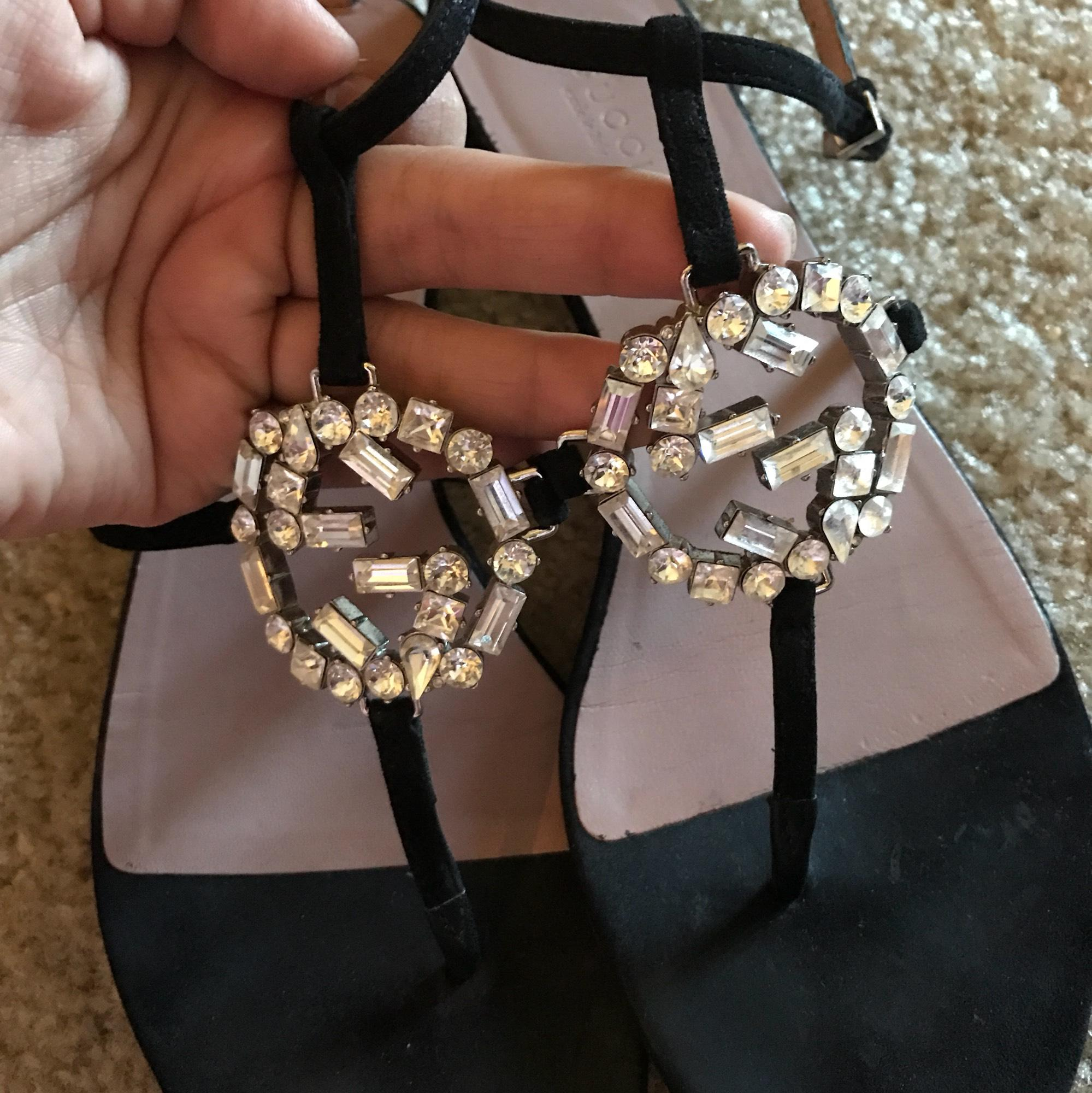 Gucci Sparkling GG sandals