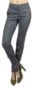 Gucci Gray Leg Slacks Designer Designer Straight Pants