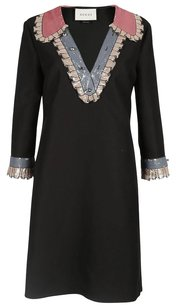 Gucci Swarovski Embroidered Sequin Dress