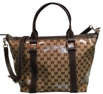 Gucci Tote in Beige, Tan and Brown