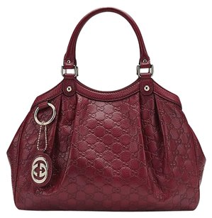 Gucci Tote in Bordeaux SUKEY