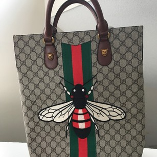 Gucci Tote in brown with beige