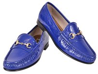 Gucci Women's Loafers Blue Flats