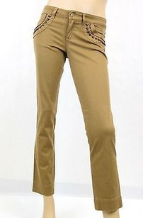 Gucci Womens Capri Jeans Capri/Cropped Pants Brown