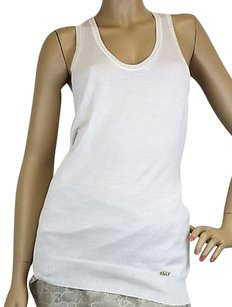 Gucci Womens Woolcashmere Top White