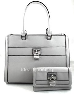 Guess Delray Grey Tote in Gray