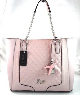 Guess Frosty Tote in Pink