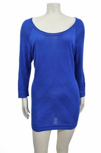 Guess By Marciano Scoop Neck Tunic Sweater