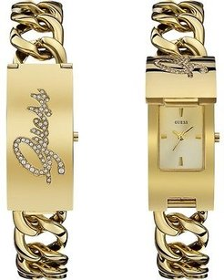 Guess Guess Gold-tone Ladies Watch W0321l2