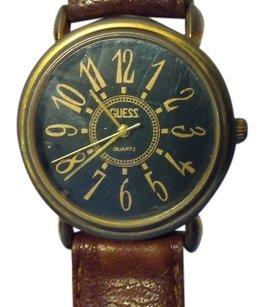Guess GUESS WATCH,WATER RESISTANT,LEATHER STRAP.