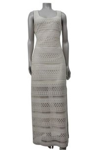 Ivory Maxi Dress by Guess Los Angeles Milk Diego