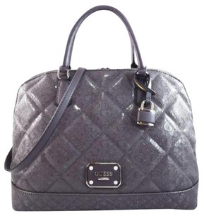 Guess Piano Grey Satchel in Gray