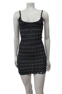 Guess short dress Black Zigzag Pattern Knit on Tradesy