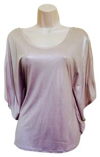 H&M T Shirt Nude And Silver
