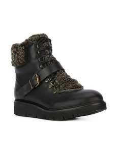 H by Hudson Lined Black Boots