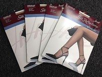 Hanes Hanes Silk Reflections Lot Of Beyond Natural Beyond Beige Pantyhose Ab