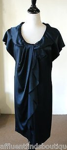 Hanii Y short dress Blue Slate Ruffle on Tradesy