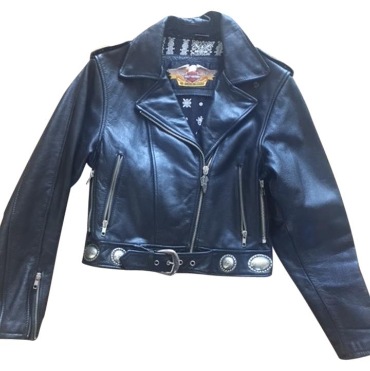 Harley-davidson leather motorcycle jacket