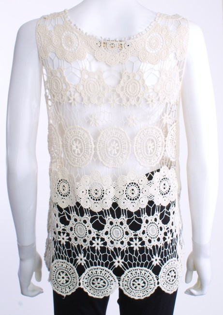 Haute Society Crochet Top IVORY