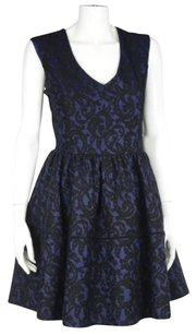 Hazel Womens Navy Dress