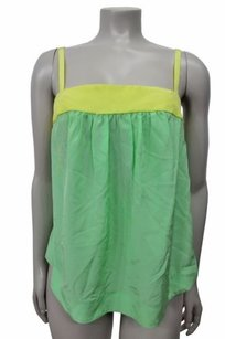 HD in Paris Anthropologie Top Mint yellow