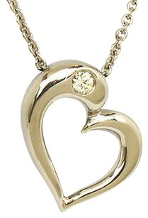 Hearts on Fire Hearts On Fire 18k Gold Amorous Sculpted Diamond Heart Pendant