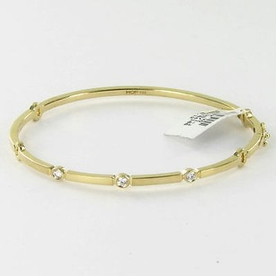 Hearts on Fire Hearts On Fire Copley Diamond 0.15cts Bangle Bracelet 18k Yellow Gold