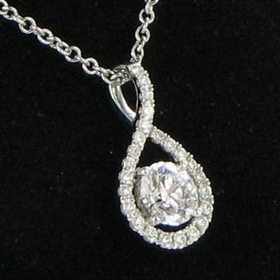 Hearts on Fire Hearts On Fire Necklace Repertoire Pendant 0.65cts Diamond 18k W Gold