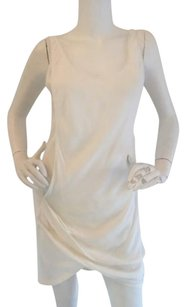 Helmut Lang short dress White Twist Tank on Tradesy