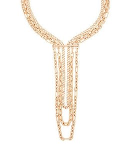 Henri Bendel Henri Bendel Deb Link Waterfall Necklace