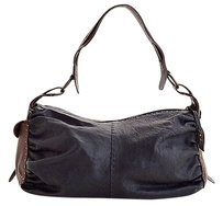 Henry Beguelin Rdc5415 Black Leather Shoulder Bag