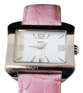 Henry Birks & Sons Birks Lady Collection Pink Strapped Watch with Pearl Dial