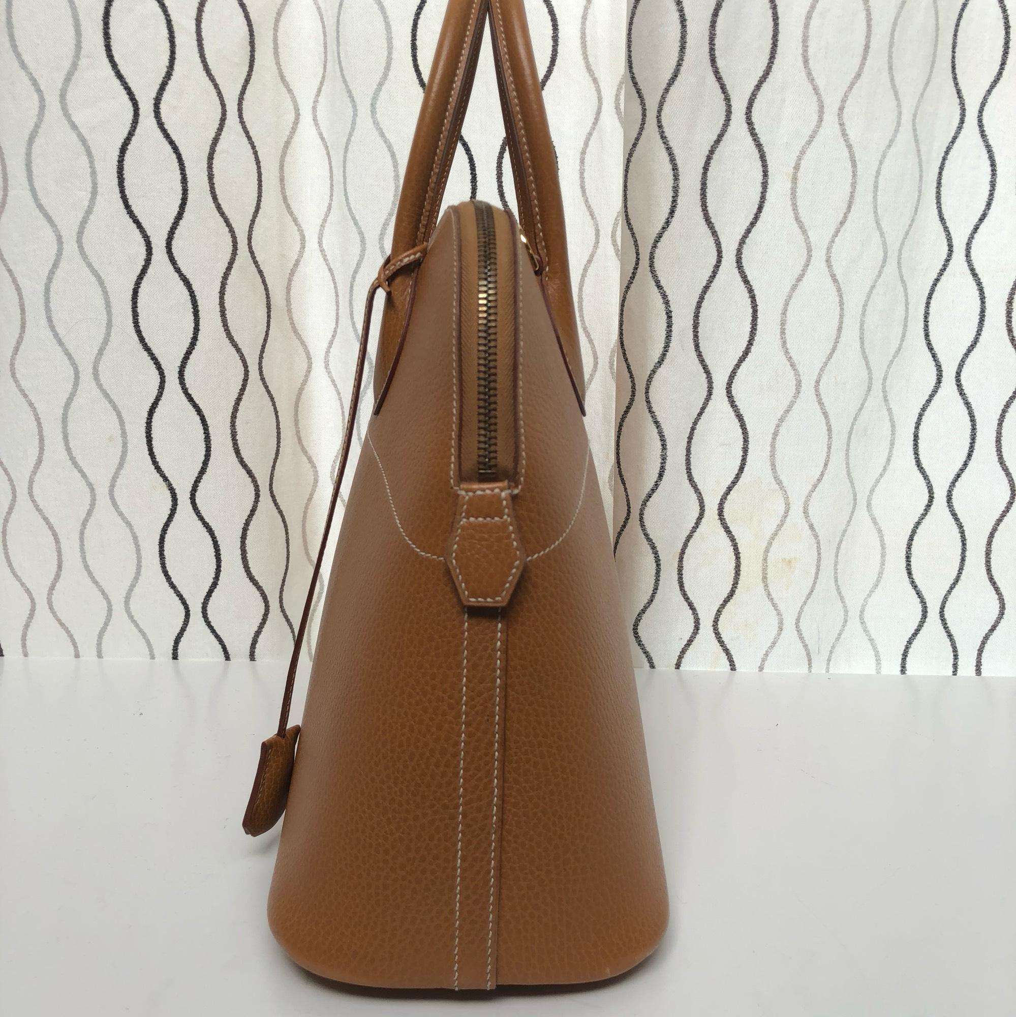 e61549f4040 ... germany 123456789101112 hermès bolide 35 natural sable ardennes leather  tote tradesy f92d0 bb902