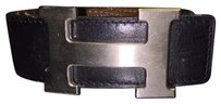 Hermès CHECK STOCK Hermes Brushed Silver Reversible Belt H 90 Cm 36in NOT AT STORE