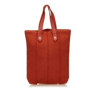Hermès Fabric Leather Others Tote