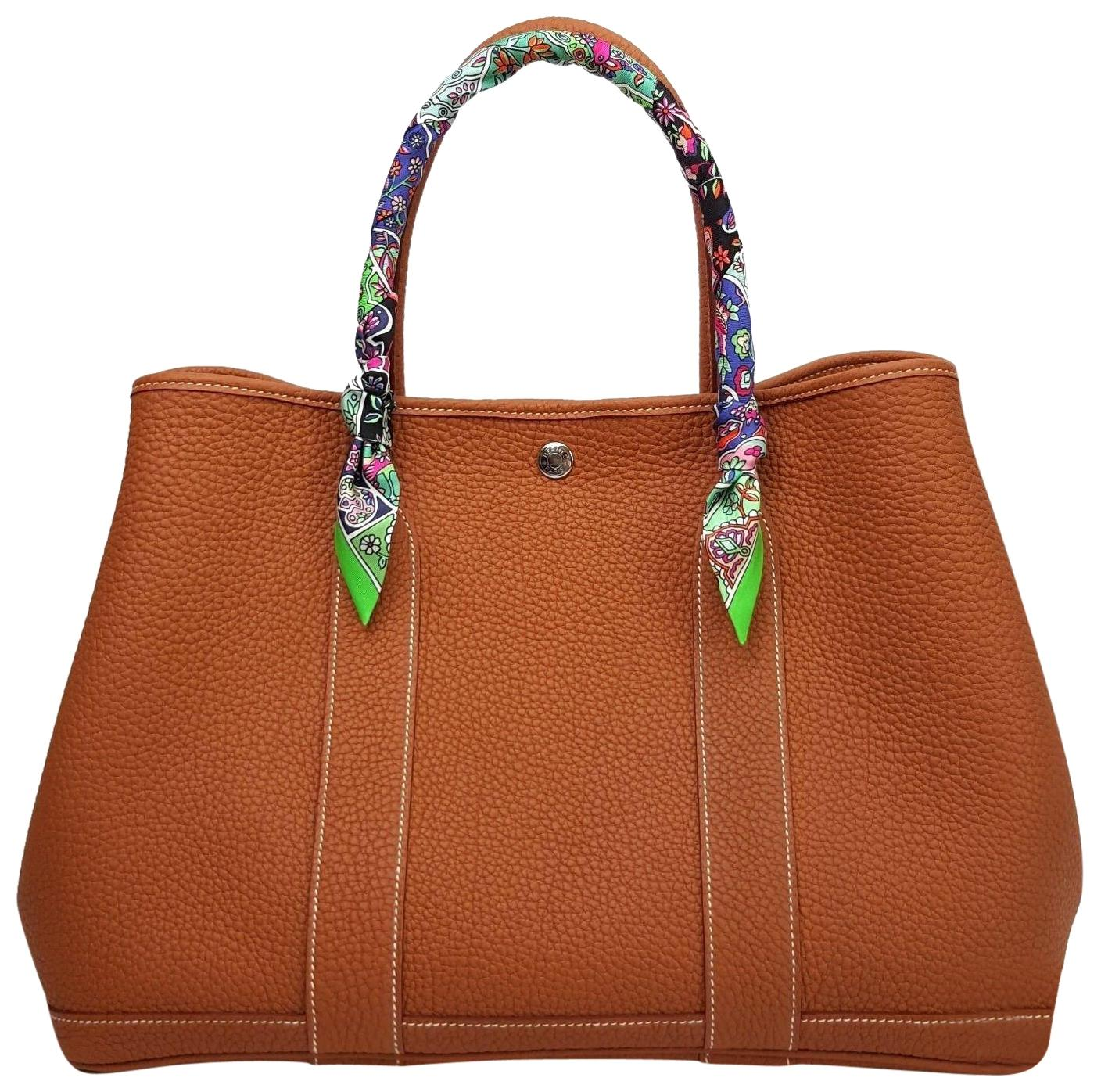 garden party hermes. Hermès Garden Party 36 Leather Tote In Gold Hermes L